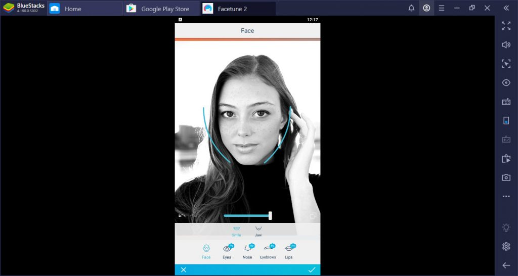 FaceTune Photo Editor For PC