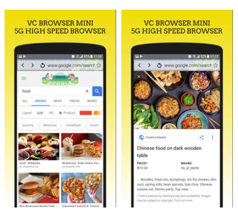 VC browser on PC