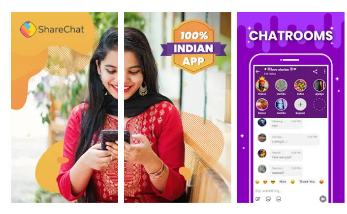 Download ShareChat for PC free Windows & macOS - PCStribe